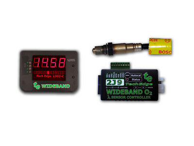 TechEdge 2J Wideband O2 Controller & Display Kit Gauge Innovate AEM