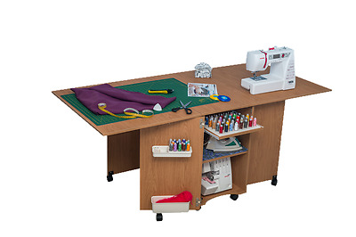Sewing Machine Cabinet Table Comfort 9. Quilting Desk Variations Of Colours.
