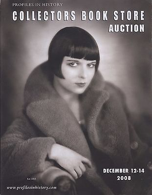 LOUISE BROOKS - COLLECTORS BOOK STORE AUCTION CATALOGUE December 2008 C#71