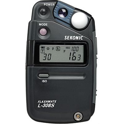Sekonic L-308S Flashmate Digital Flash Light Meter (CE Version)