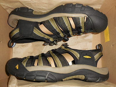 Keen Newport H2  Mens Sandals - Black -Stone Gray Men's Sz  8.5