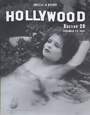 CLARA BOW - HOLLYWOOD PORTRAIT PHOTOGRAPH AUCTION No.29 November 2007 C#71