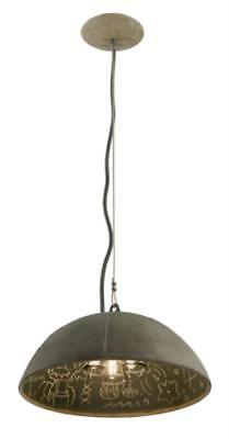 Troy F3653 Pendants Relativity Salvage Zinc Chalkboard Interior 3 Light 21 inch