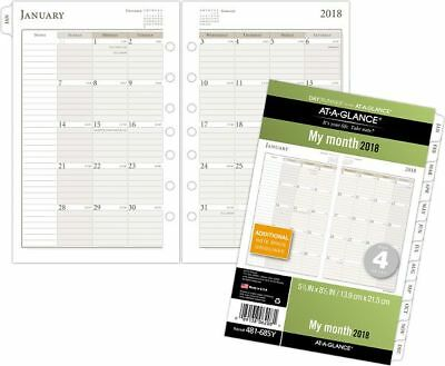 At-A-Glance Day Runner Monthly Planner Refill Size 4 - Loose-Leaf Planner