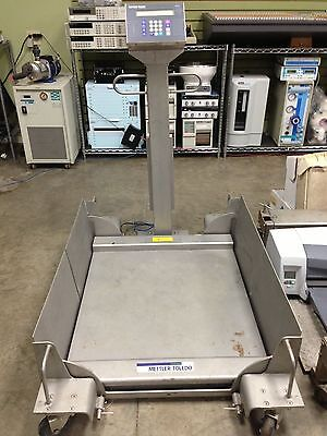 Mettler Toledo 2888, 1000 lbs DECKMATE, all Stainless Portable Scale