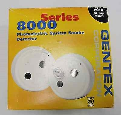 Gentex 8000 Series Photoelectric system smoke detector Model 8240PHY