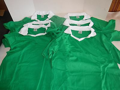 New 6 Pk Augusta Sportswear Style 250 Green Adult Small(P)