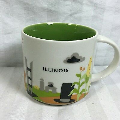 Illinois Starbucks  You are Here 2015 Collector Series