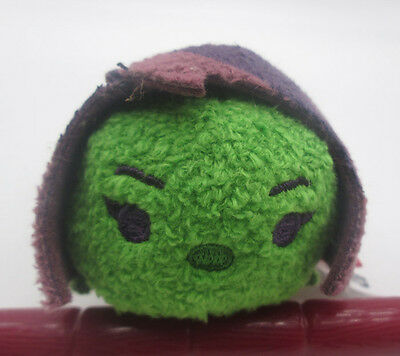 Disney Store Marvel Guardians Of The Galaxy Gamora Tsum Tsum Plush 31/2 New