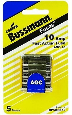 Bussmann AGC Glass Type Fuses - 10 Amp BP/AGC-10