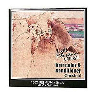 Haircolor Chestnut 4 Oz by Light Mountain