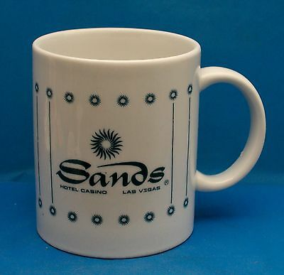 SANDS Hotel and Casino Las Vegas Porcelain Coffee Mug Tea Cup Souvenir Gift