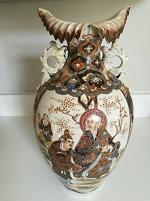 Large Japanese Satsuma Antique Vase - Very Decorative - Best Offers Considered