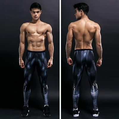 Marvel Superhero Cycling Sports Leggings Athletic Pants Gym Gear Sport Trouser
