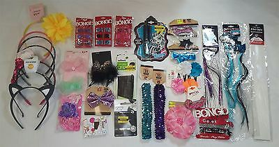 Wholesale Lot of Assorted Hair Accessories Brand Name NEW Approx. 50 PCS