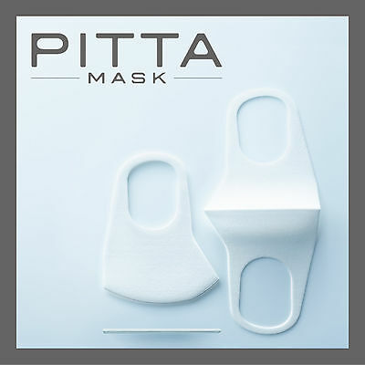3 Arax Pitta Mask White Designer anti pollen dust Face Mask Mouth Japan Import