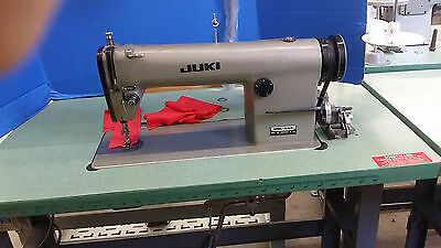 Used Juki Single Needle Machine With 110V Motor Model#ddl555