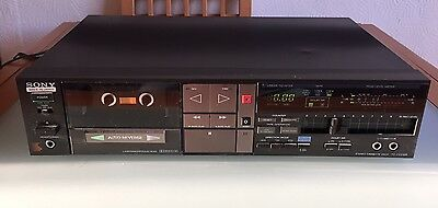Sony TC-FX510R Cassette Deck. Made In Japan.