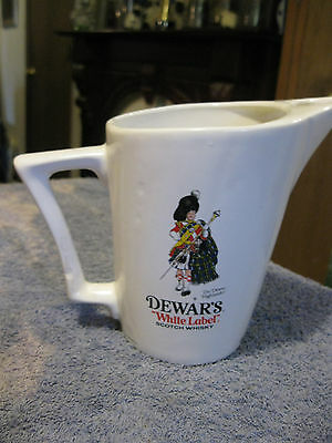 Dewars White Label Cream Pitcher
