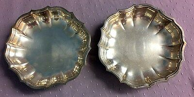 Vintage Chippendale International Silver Company Candy/Nut Dish - Set of 2