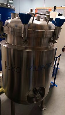 Millipore - Bioreactor, Fermentor, 250 Liter, Jacketed, 316SS - 2 available