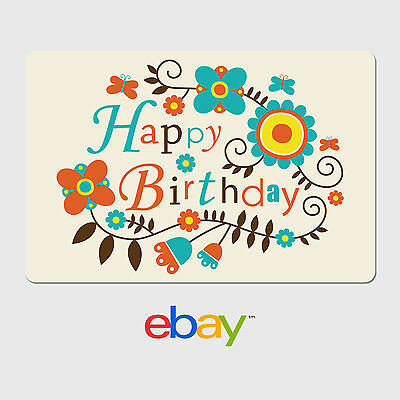 eBay Digital Gift Card - Vine Of Flowers -  Fast email delivery