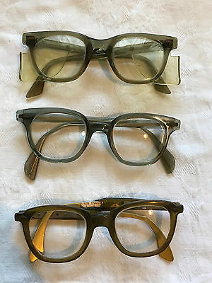 Lot of 3 pairs of Vintage Safety Glasses