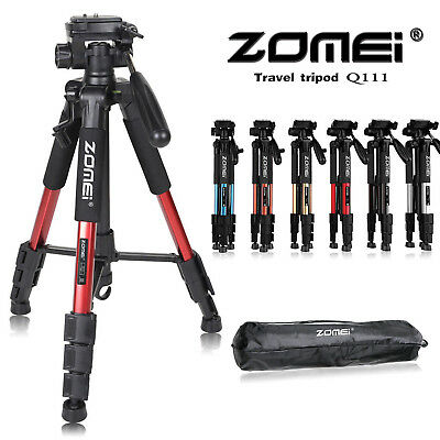 Pro Portable Travel Aluminum Camera Tripod Pan Head for Digital SLR DSLR Camera