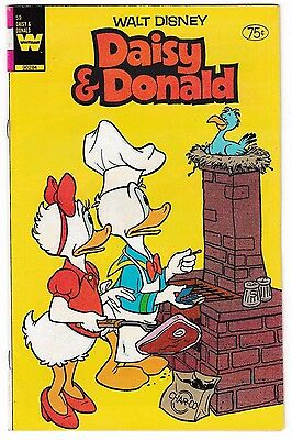DAISY & DONALD #59 Last Issue! Canadian Price Variant! 1984 Whitman Low Print!