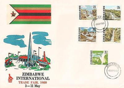 Zimbabwe / Rhodesia 1980 Zimbabwe Int'l Trade Fair Commemorative Cover *see Scan