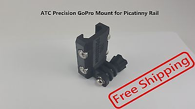 Picatinny Rail Mount for GoPro Cameras - Free Shipping