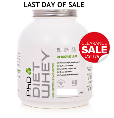 PhD Nutrition Diet Whey Protein Weight Loss Shake 2kg SALE