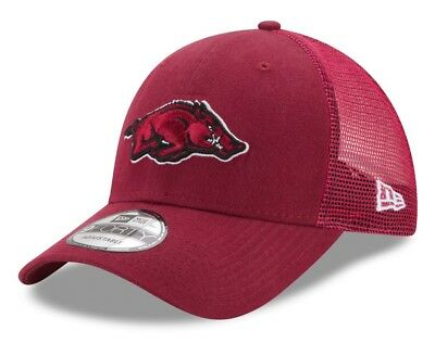 cheaper be587 02b6b Arkansas Razorbacks New Era 9Forty NCAA