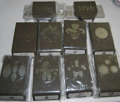 Lot of New Extra Large  - Stampin Up!  Punches - You Choose!