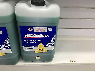 Genuine Holden Green Long Life Coolant Anti Freeze Anti Boil 20L Bulk Bottle