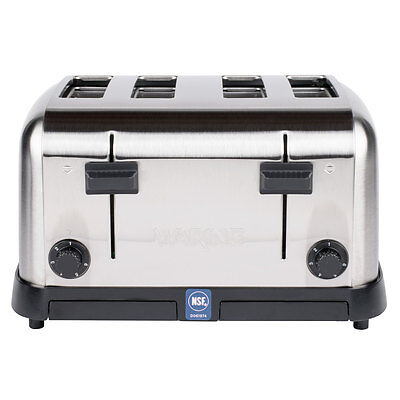 Waring WCT708 4 Slice NSF Electric Commercial Restaurant Toaster - 120V