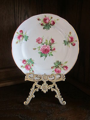 Grandmother's Rose Salad Plate by Hammersley
