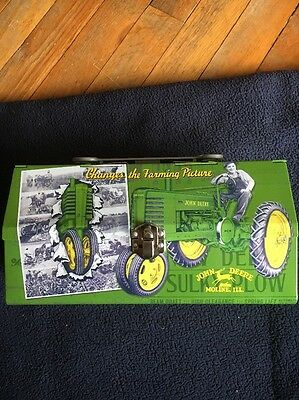 John Deere Tin Lunch Box