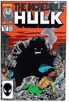 INCREDIBLE HULK #333 NM Cover Story Appearance of THE GREY HULK! Todd McFarlane