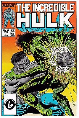INCREDIBLE HULK #334 (NM-) Todd McFarlane Art! 1st Appearance of Half-Life! 1987