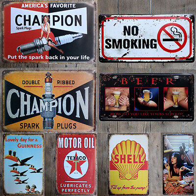 Nuevo Vintage Retro Metal Letrero De Metal Póster Placa Bar Pub Club Pared