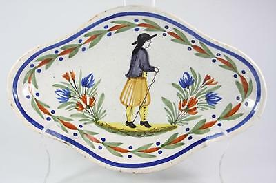 Antique Italian Decorative Handpainted Plate
