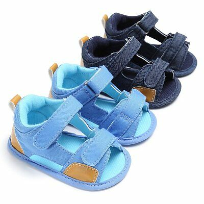 Fashion Baby Infant Kids Summer Girl Soft Sole Crib Toddler Boys Sandals Shoes