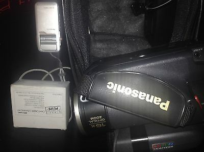 Panasonic Camcorder Lot Of 2:model# Sv-Av50 & #pv-A227*for Parts Or Repair*read*