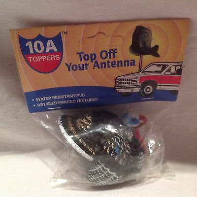 Antenna Topper-Wild Turkey-Turkey Hunter-10A Toppers- Water Resistant - NWTF
