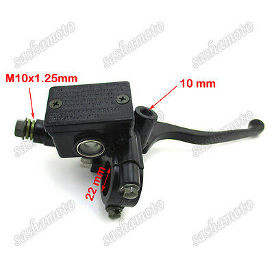 Front Hydraulic Brake Master Cylinder Handle Lever For Honda CM450 Motorcycle