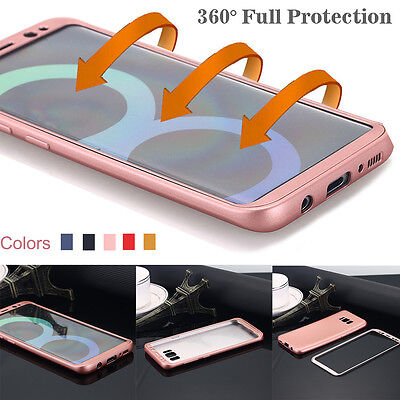 For Samsung GALAXY S8+ Note8 Hybrid Rugged Shockproof Protective Case Slim Cover