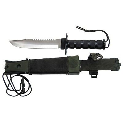 -- MESSER / ÜBERLEBEN Jungle II - KNIEF - Survival Jagd Outdoor / 4143