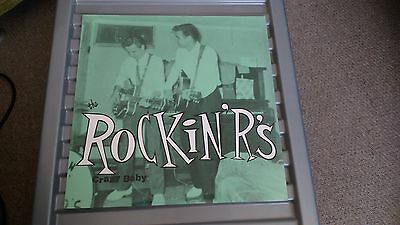 THE ROCKIN' R's CRAZY BABY - LP RECORD