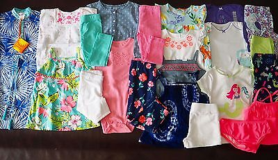 NEW CARTERS Baby Girl Spring Summer Lot - 22 PIECES --- 24 Month & 2T --- $290